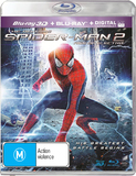 The Amazing Spider-Man 2 3D on Blu-ray, 3D Blu-ray