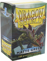 Dragon Shield Matte Green Card Sleeves image