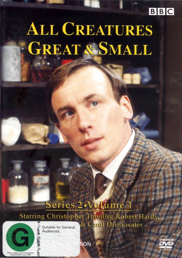 All Creatures Great & Small - Season 2 - Vol 1 (3 Disc Set) on DVD image