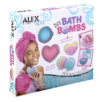 Alex: Spa - DIY Bath Bombs
