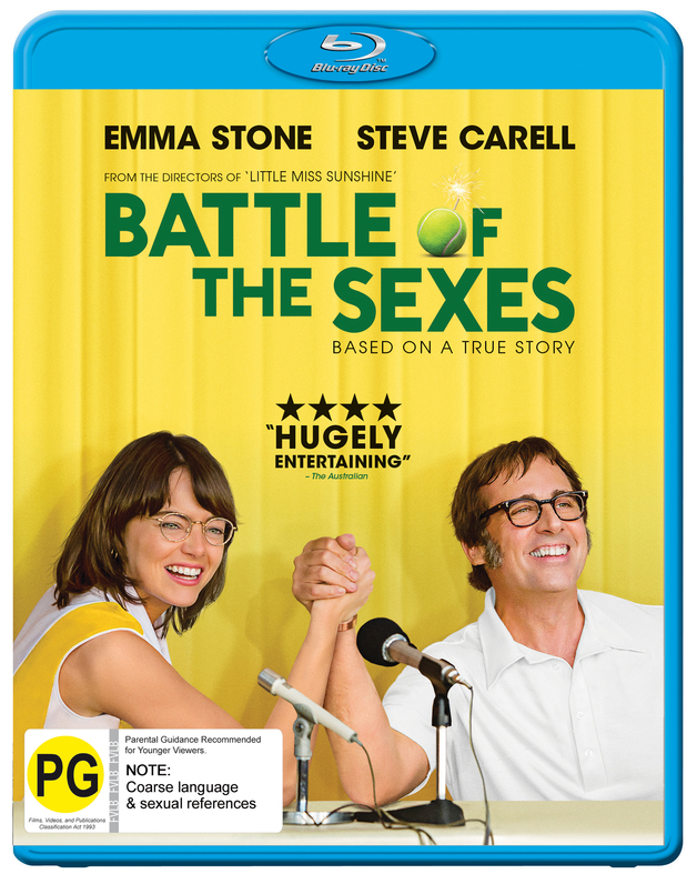 The Battle Of The Sexes on Blu-ray