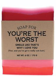 Whiskey River Co: Soap - You're the Worst