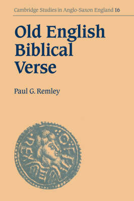 Old English Biblical Verse by Paul G. Remley image