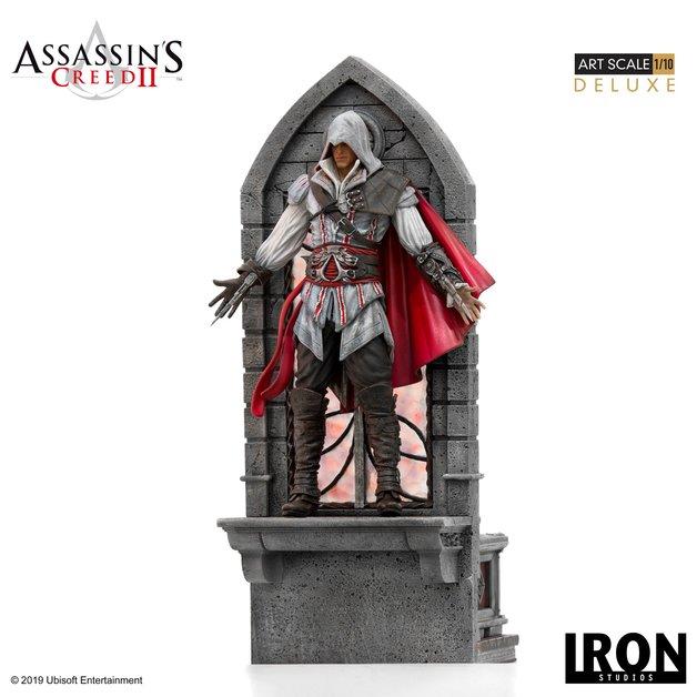 Assassin's Creed 2 - Ezio Auditore (Deluxe) 1:10 Scale Statue