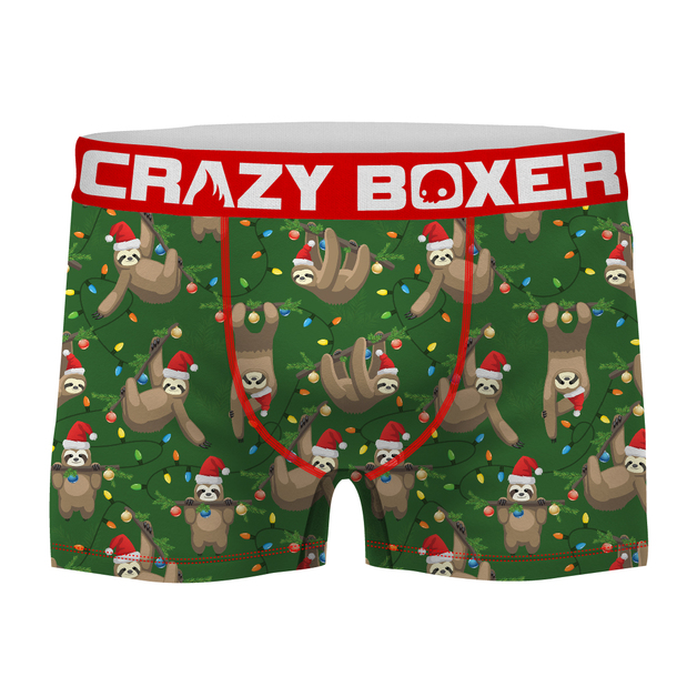 Crazy Boxer: Slothmas Boxers - Medium