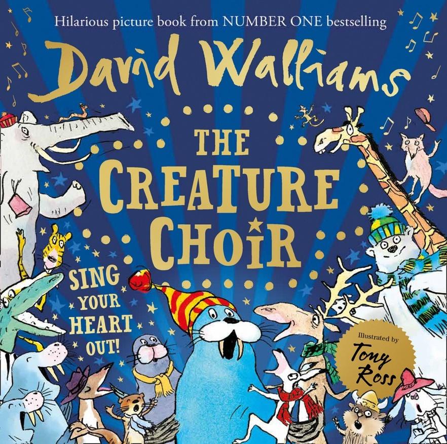 The Creature Choir by David Walliams image