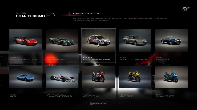 Gran Turismo HD for PS3 image