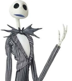 Nightmare Before Christmas 1:1 Miracle Action Figure - DX Prop Size Jack Skellington