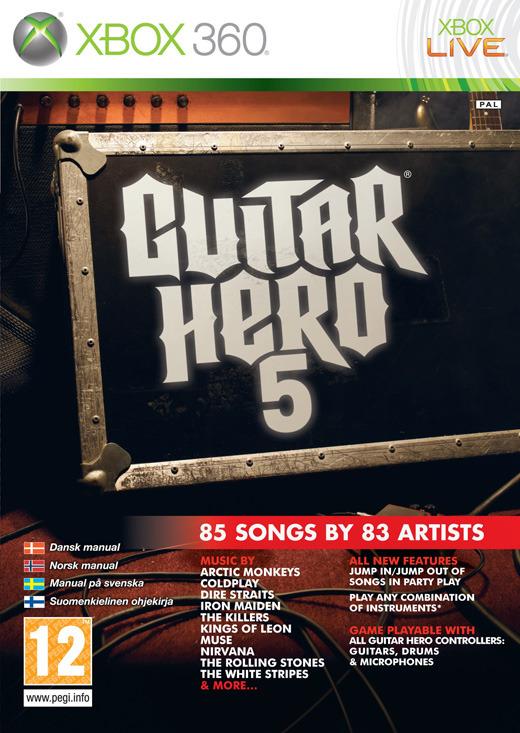 Guitar Hero 5 (ex display) for X360