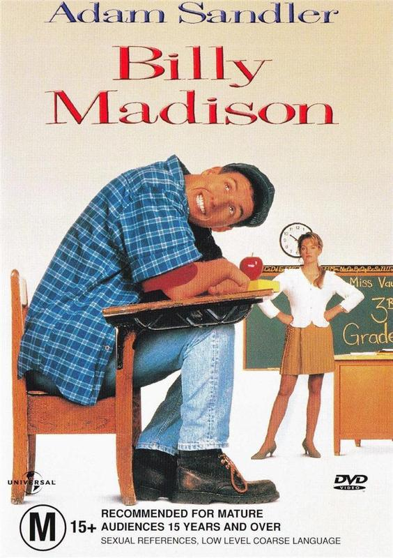 Billy Madison on DVD