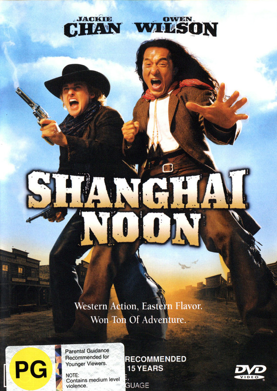 Shanghai Noon on DVD