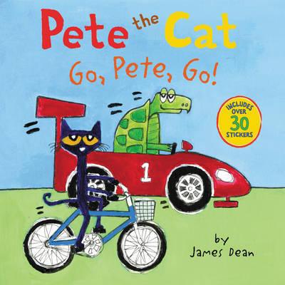 Pete the Cat: Go, Pete, Go! by James Dean image