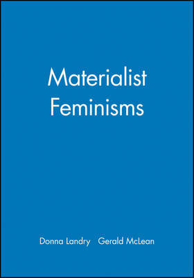 Materialist Feminisms by Donna Landry image
