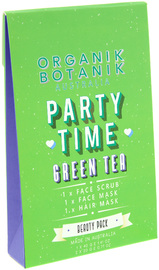 Organik Botanik - Party Time Hair & Facial Treatment Beauty Pack (Green Tea)