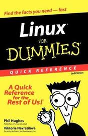 Linux For Dummies Quick Reference by Phil Hughes