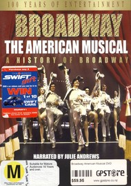Broadway: The American Musical (2 Disc) on DVD image