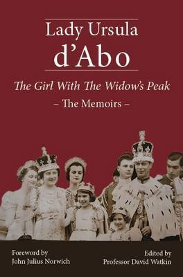 The Girl with the Widow's Peak by Ursula D'Abo