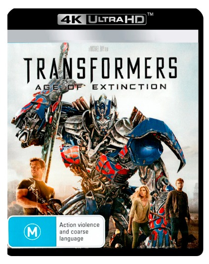 Transformers: Age Of Extinction on UHD Blu-ray
