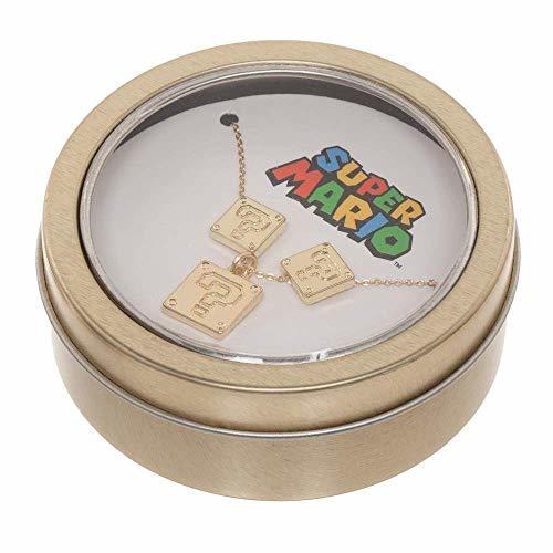 Super Mario Bros: Earring & Necklace - Jewellery Set
