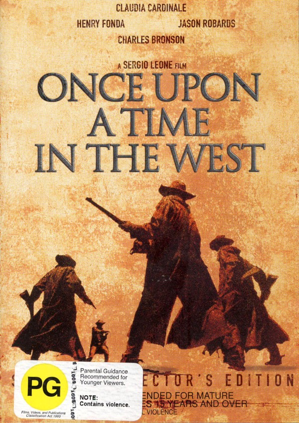 Once Upon a Time in the West (2 Disc Set) on DVD image