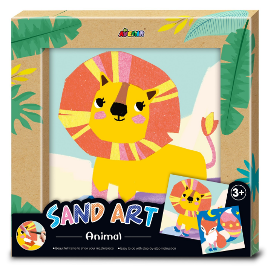 Avenir: Photo Frame Kit - Sand Art (Animals)