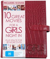 10 Great Movies For A Girls Night In (10 Disc Case) on DVD