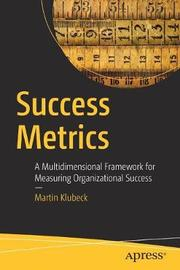 Success Metrics by Martin Klubeck