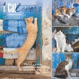Cat Lovers 2018 Square Wall Calendar