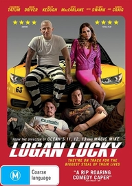 Logan Lucky on DVD image