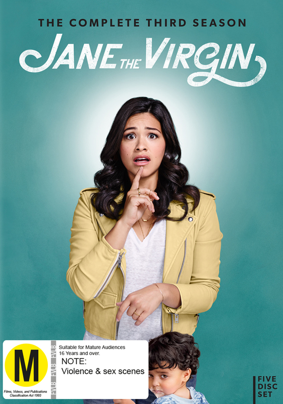 Jane The Virgin - The Complete Third Season on DVD