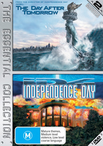 Day After Tomorrow / Independence Day - The Essential Collection (2 Disc Set) on DVD