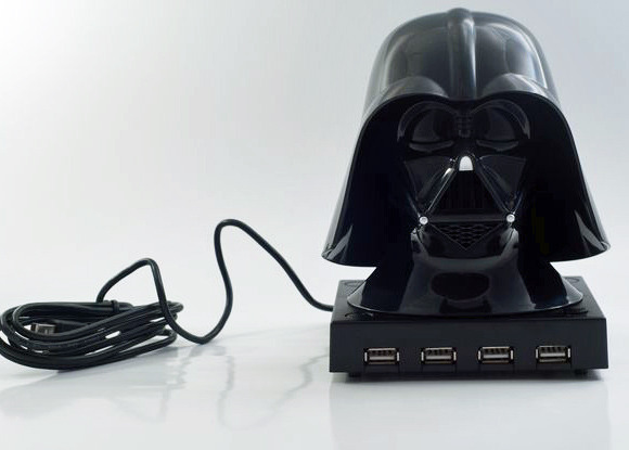 Star Wars USB Hub with Sound FX - Darth Vader image