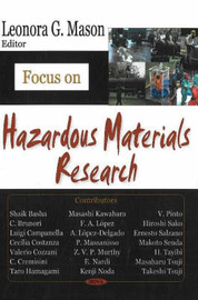 Focus on Hazardous Materials Research image