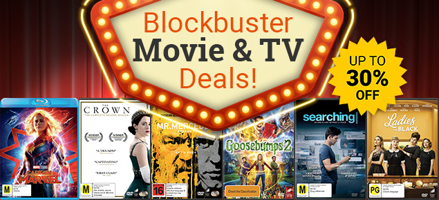 Blockbuster Movie & TV Deals! Save up to 30% off!