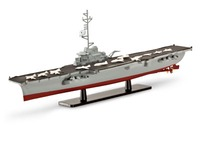 Revell - 1:1750 French Aircraft Carrier Model Kit