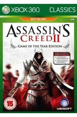 Assassin's Creed II - Game of the Year edition (Classics) for Xbox 360