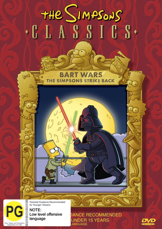 The Simpsons Classics - Bart Wars on DVD