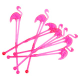Flamingo Stirrers - Pink (Set Of 16)