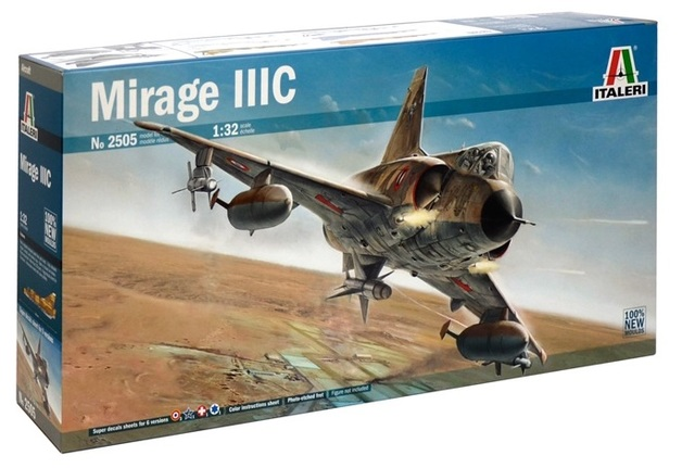Italeri: 1/32 Mirage IIIC - Model Kit