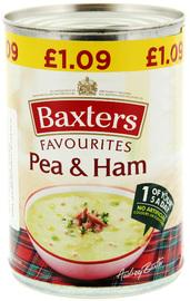 Baxter's Pea & Ham Soup 400g