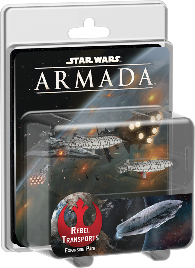 Star Wars Armada Rebel Transports Expansion Pack image