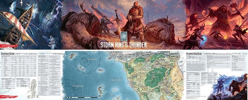 D&D: Storm King's Thunder DM's Screen