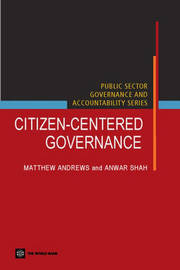 Citizen-centered Governance by Anwar Shah image