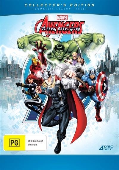 Avengers Assemble - Season 3 Collector's Edition on DVD image