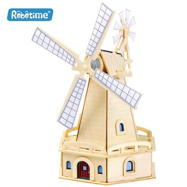 Robotime: Windmill