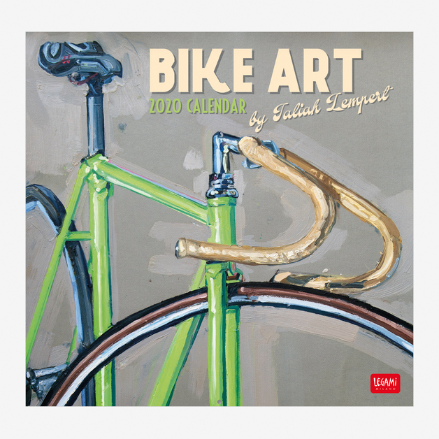 Legami: Bike Art 2020 Wall Calendar