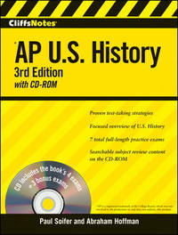 CliffsNotes AP U.S. History by Paul Soifer image