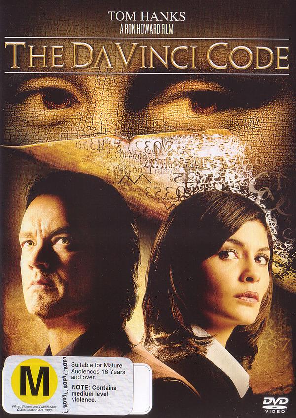 The Da Vinci Code on DVD image