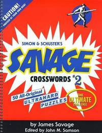 Savage Crosswords 2 by Savage image