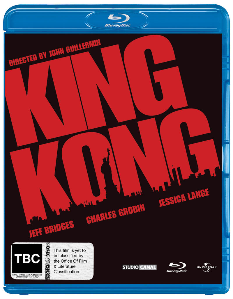 King Kong (1976) on Blu-ray image